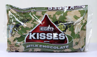 hershey kisses camo