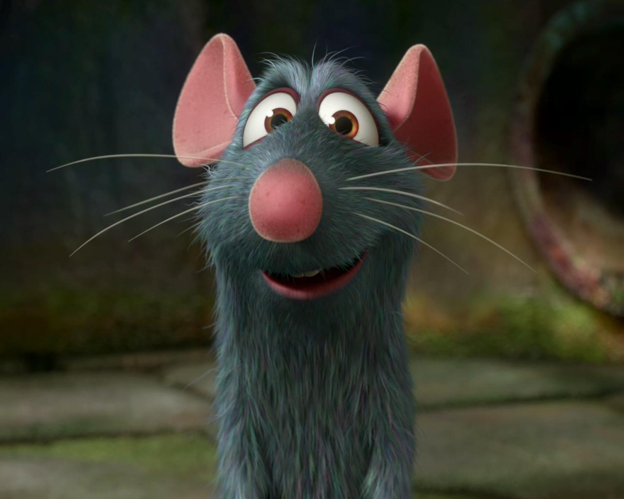 the rat in ratatouille