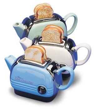 toast & tea pot