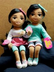 Obama Daughters Dolls