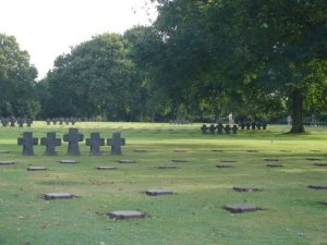 German cemetery normandy